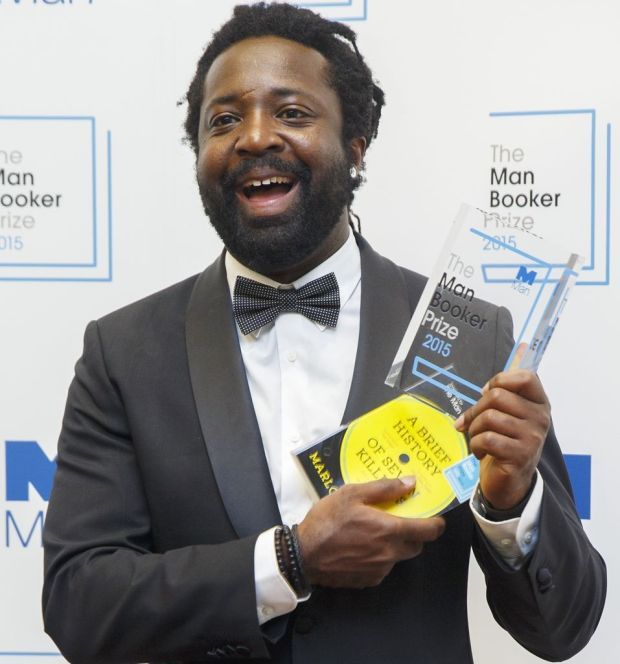 Marlon James after his Booker prize win for 'A Brief History of Seven Killings' in 2015. Photograph: Tolga Akmen/Anadolu Agency/Getty Images