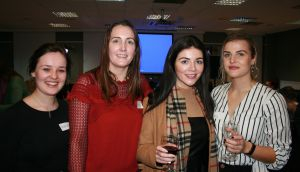 Aishling Murphy (22) from Co Laois, Christine Fitzpatrick (36) from Co Down, Gemma Coyle (26) from Co Armagh and Gemma Hayden (25) from Co Tipperary, who  met through the Irish Dolls in London Facebook group.