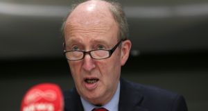 Minister for Transport, Tourism and Sport Shane Ross: the doors of the Independent Alliance and other non-aligned members of the Government have recently remained undisturbed.  Photograph: Laura Hutton