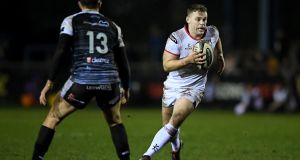Ulster's Darren Cave will make his 222nd appearance for the province.