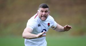 Mark Wilson:  has formed part of a cohesive back-row unit with Billy Vunipola and Tom Curry. Photograph: Steven Paston/PA