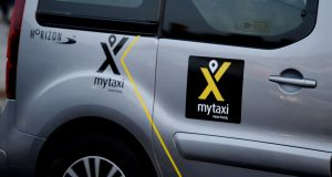 In Ireland, most people miss its original name – Hailo – before it became Mytaxi. Photograph: Alan Betson/The Irish Times