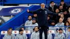 "Maurizio Sarri: ""We are one point from the top four, on the same as Arsenal, and [people say] Arsenal are doing well,"" said Sarri.  Photograph: David Klein/Reuters"