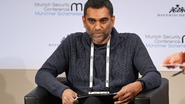 Amnesty International secretary general Kumi Naidoo: 'Change has to happen in a realistic, structured and holistic way to ensure necessary continuity, with due sensitivity to the constraints we face within the organisation.' Photograph: Andreas Gebert/Reuters
