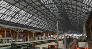 An impression of what the roof of Pearse Street will look like after the works. Photograph: Irish Rail
