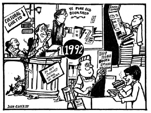 Predictions for publishig in 1992, Don Conroy, published in The Irish Times, 1982