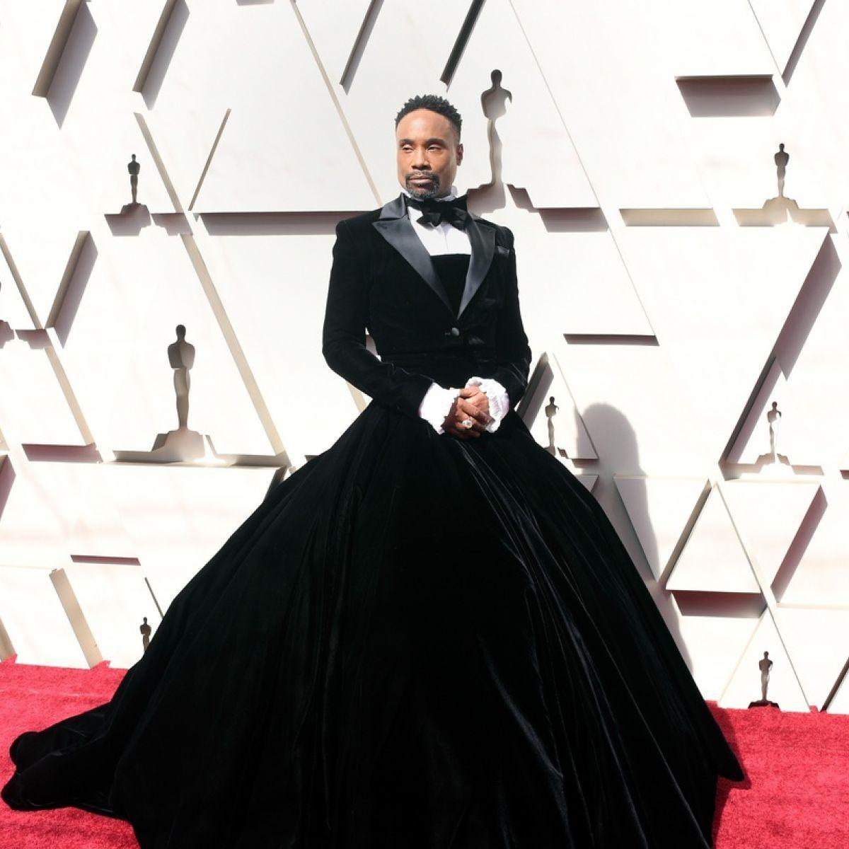 e51d67dc49e Oscars 2019  Billy Porter s tuxedo gown stuns the red carpet