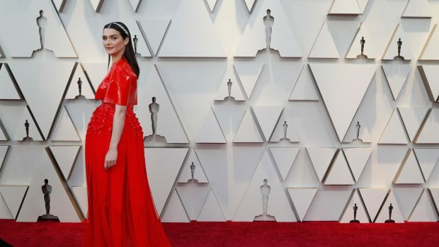 Rachel Weisz in Givenchy on the red carpet. Photograph: Mario Anzuoni/Reuters