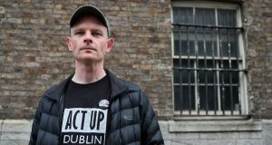 Noel Donnellon, from ACT UP Dublin, says new HIV diagnoses rates in Ireland have reached crisis point. Photograph: Brian Lawless/PA Wire