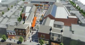A computer generated impression of the  Oakmount development in Bray centre.