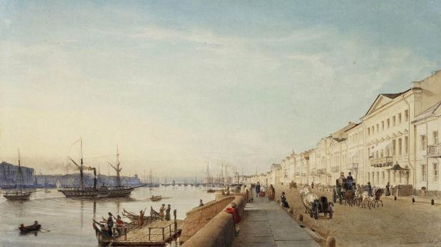 St Petersburg in the 18th century.