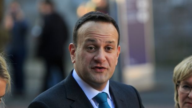 Taoiseach Leo Varadkar: says there different views within the EU on whether an extension of the Article 50 negotiating period should be granted only if it is accompanied by a specific plan on how to proceed by UK. Photograph: Collins