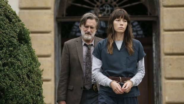 Bill Pullman and Jessica Biel in The Sinner