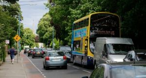 Gardens of properties in Terenure are among those that will be affected by the BusConnects core bus corridor project. Photograph:    Nick Bradshaw
