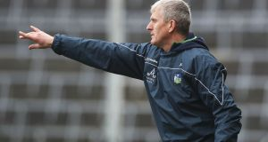 Limerick manager John Kiely: expecting his side to get back to full strength after injuries. Photograph: Lorraine O'Sullivan/Inpho