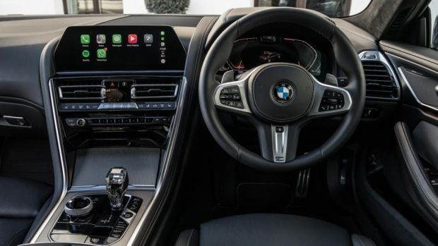 The 8 Series boasts a premium interior