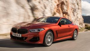 Striking: The BMW 8 Series is a seriously good-looking coupe