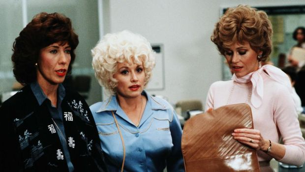 9 to 5: Lily Tomlin, Dolly Parton and Jane Fonda in the feminist classic