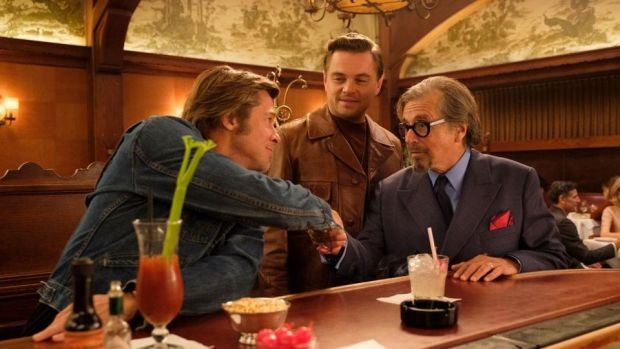 Once Upon a Time in Hollywood: Brad Pitt, Leonardo DiCaprio and Al Pacino in Quentin Tarantino's new film