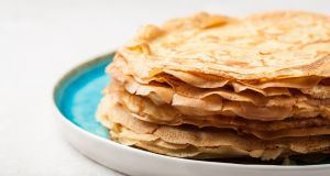 Pancakes look like the simplest thing in the world to make. If you only do it once a year, though, the results can be oddly crumbly or gloopy.