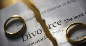 The proposed legislation will see the time spent living apart by couples before becoming eligible for divorce be cut from four years out of the preceding five to two years out of the previous three. File photograph: iStock