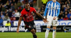 Southampton and Ireland striker Michael Obafemi has been ruled out for the rest of the season with a hamstring injury. Photograph: Ed Sykes/Action Images via Reuters
