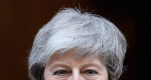 UK prime minister Theresa May has said that if whatever plan she puts to MPs on Brexit is rejected on March 12th, then she will give them a choice on whether to support or oppose a no-deal exit. Photograph: Leon Neal/Getty Images