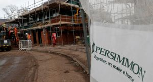 A Persimmon development in Coventry. Photograph: Darren Staples/File photo/Reuters