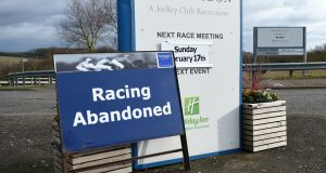 Irish racing's enhanced vaccination programme comes in response to the outbreak of equine flu in Britain. Photograph: Joe Giddens/PA Wire