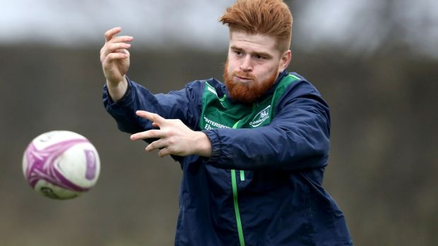 Connacht have lost Seán O'Brien for the rest of the season due to an injury to his shoulder. Photograph: Bryan Keane/Inpho