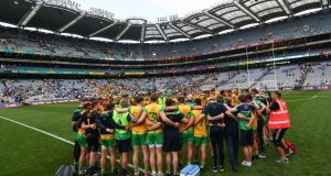 Donegal's  queried having to play Dublin in Croke Park in Phase 1 of the quarter-finals last year. Photograph: James Crombie/Inpho