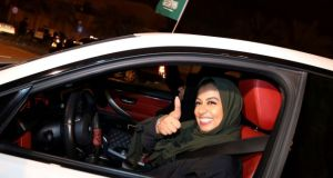 Seven female activists  were detained and imprisoned last year in Saudi Arabia after campaigning against the ban on women driving and the country's male guardianship system. File photograph: Reuters