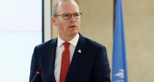 Minister for Foreign Affairs Simon Coveney:  one of a number of speakers in the debate who fervently hoped the new Bill would never see the light of day. Photograph: Salvatore Di Nolfi/EPA