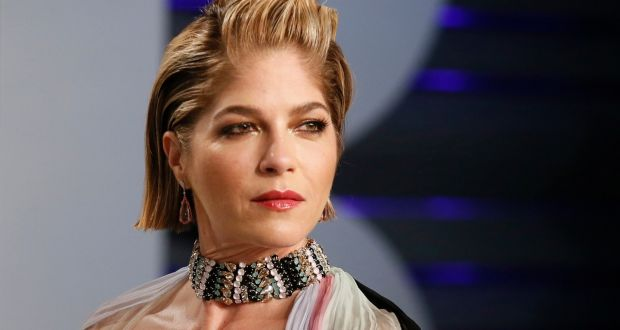 Selma Blair at the Vanity Fair Oscars party in Beverly Hills, on February 24th. Photograph:  Reuters/Danny Moloshok