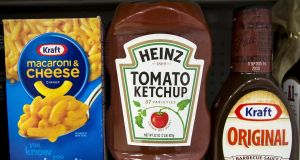 Up to 98 per cent of Kraft's sales before the merger with Heinz were in North America.