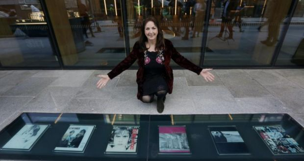 Vinyl walkway of famous albums unveiled at Windmill Lane in Dublin