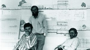 'An Engineer Imagines' examines the life and work of Peter Rice (L)