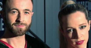 Adam Matthews and Alma Kelliher, who appear in RIOT at Vicar Street in May