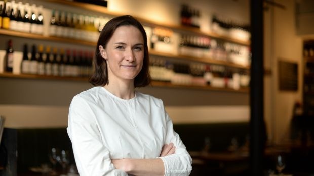 Liz Matthews, of Uno Mas and Etto had originally planned to return to the construction industry, but five years on remains in the restaurant game. Photograph: Dara Mac Dónaill/The Irish Times