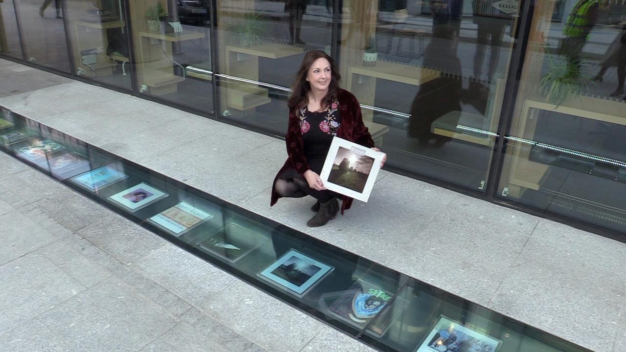New 'Vinyl Walkway' celebrates Windmill Lane recording studios in Dublin