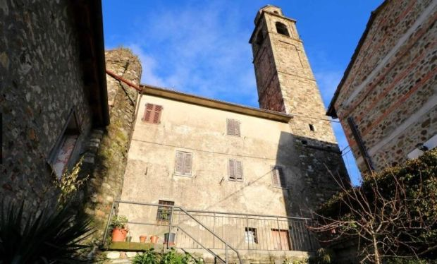 €45,000: two bedroom home beneath the bell tower of Malgrate Castle