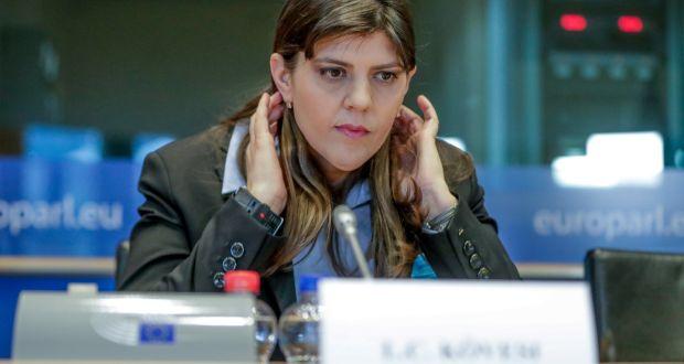 MEPs back Romanian anti-graft prosecutor's bid for top EU job