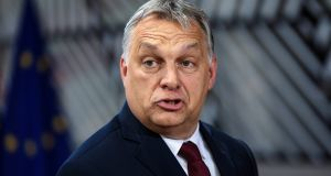 Hungarian prime minister Viktor Orbán is a vocal supporter of anti-immigrant rhetoric in Europe. File photograph: Jack Taylor/Getty Images
