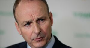 Fianna Fáil leader Micheál Martin said said at one level 'this is simply the Taoiseach confirming yet again that he does not believe anyone should ever challenge him.' Photograph: Brian Lawless/PA Wire
