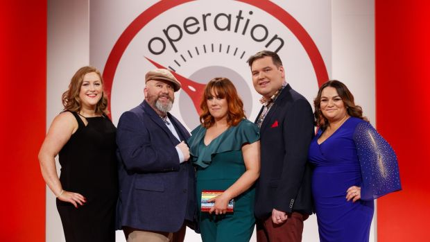 Operation Transformation leaders Siobhan O'Brief, Cathal Gallagher, Jean Tierney, Paul Murphy and Pamela Swayne