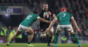 Ireland would meet the All Blacks once a year in the proposed World League. Photograph: Billy Stickland/Inpho