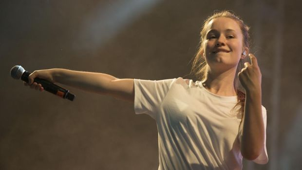 Irish gig: Sigrid at Electric Picnic 2018. Photograph: Dave Meehan
