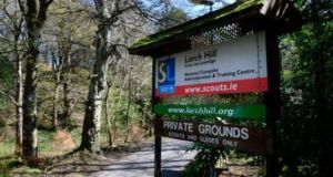 Scouting Ireland's training and conference centre at Larch Hill in Dublin. Photograph: Cyril Byrne