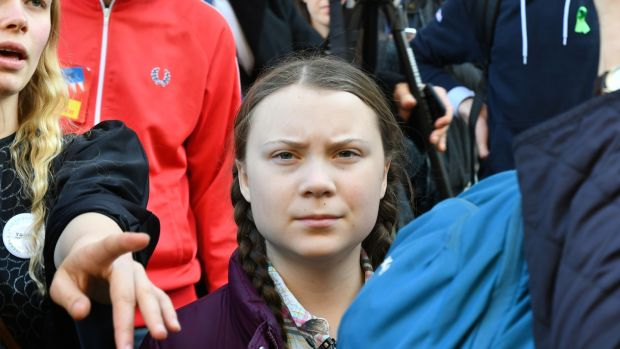 Swedish teenager Greta Thunberg has inspired many followers in her climate action protests. Photograph: Getty Images