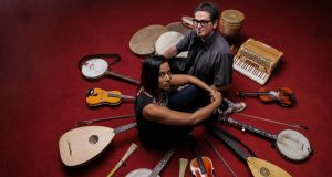 'We're rare birds': Rhiannon Giddens and Francesco Turrisi
